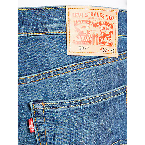 Buy Levi's 527 Bootcut Jeans, Mid Blue Online at johnlewis.com