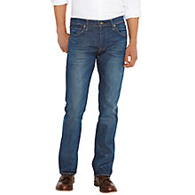 Buy Levi's 527 Slim Bootcut Jeans, Mid Blue Online at johnlewis.com