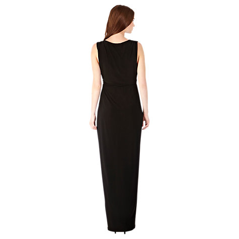 Buy Coast Mona Jersey Maxi Dress, Black Online at johnlewis.com
