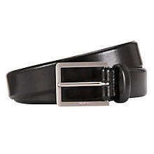 Buy Hugo Boss Erinio Leather Belt Online at johnlewis.com