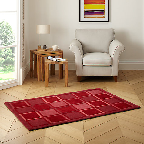 Buy John Lewis Squares Rug Online at johnlewis.com