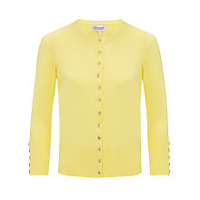Buy Somerset by Alice Temperley Button Detail Cardigan, Yellow Online at johnlewis.com