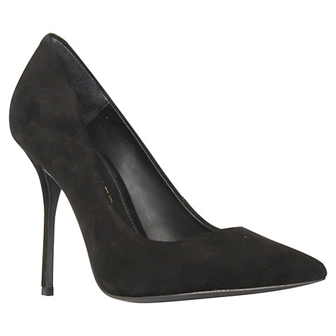 Buy Kurt Geiger Ellen Court Shoes, Black Online at johnlewis.com