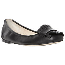 Buy Pied A Terre Gluck Leather Fringed Loafers Online at johnlewis.com