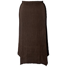 Buy Chesca Double Pleated Skirt, Brown Online at johnlewis.com