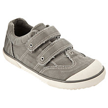 Buy John Lewis Boy Bradley Double Strap Trainers, Khaki Online at johnlewis.com