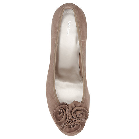 Buy John Lewis Mariette Suede Rose Decoration Court Shoes Online at johnlewis.com