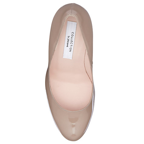 Buy COLLECTION by John Lewis Weisz Patent Platform Court Shoes Online at johnlewis.com