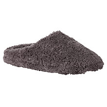Buy John Lewis Sleepy Mule Slippers, Charcoal Online at johnlewis.com