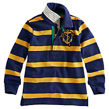 Buy Little Joule Wesley Jumper, Navy/Yellow Online at johnlewis.com