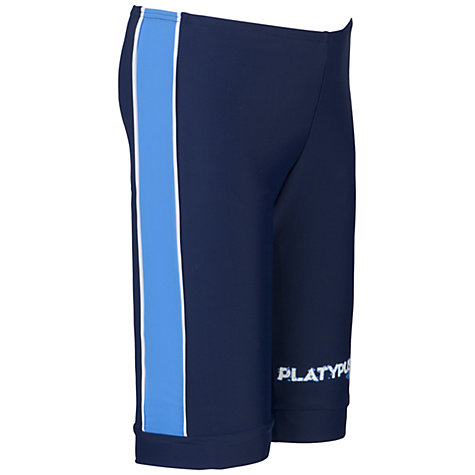 Buy Platypus Boys' Bike Shorts, Blue Online at johnlewis.com
