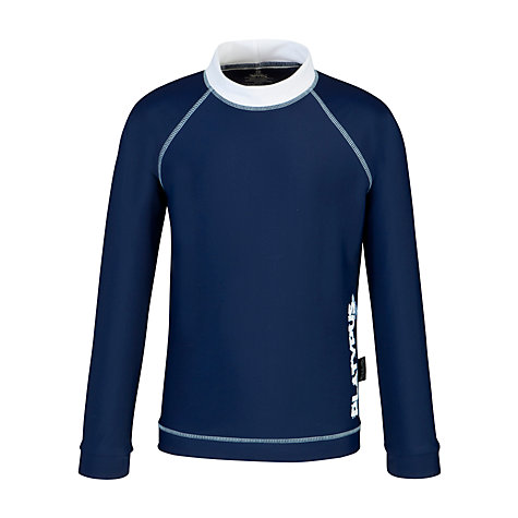 Buy Platypus Long Sleeved Rash Vest, Navy Online at johnlewis.com