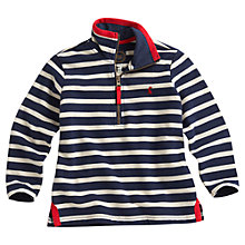 Buy Little Joule Dale Striped Jumper, Navy/White Online at johnlewis.com