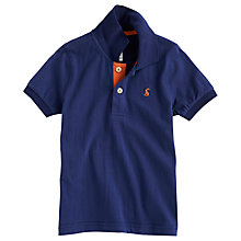 Buy Little Joule Tom Polo Shirt, Navy Online at johnlewis.com