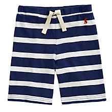 Buy Little Joule Buccaneer Striped Shorts, Blue/White Online at johnlewis.com