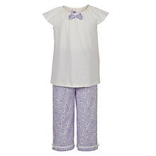 Buy John Lewis Girl Ditsy Floral Shortie Pyjamas Online at johnlewis.com