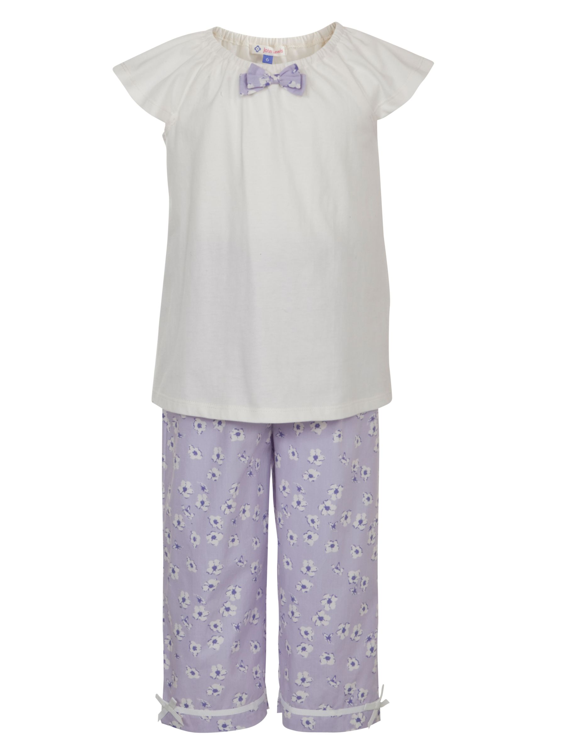 John Lewis Girl Ditsy Floral Shortie Pyjamas