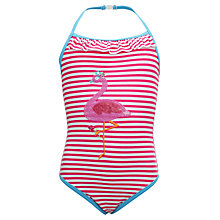 Buy John Lewis Girl Flamingo Swimsuit Online at johnlewis.com