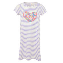 Buy John Lewis Girl Flower Heart Nightdress Online at johnlewis.com