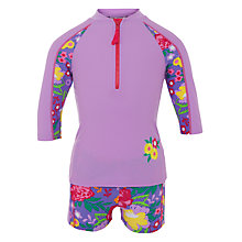 Buy John Lewis Girl Butterfly Sun Pro Two Piece, Purple Online at johnlewis.com