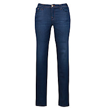 Buy Armani Jeans Mid Rise Super Skinny Jeans, Blue Online at johnlewis.com