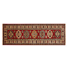 Buy Kazak Handmade Runner, Red, L175 x W60cm Online at johnlewis.com