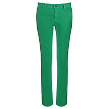 Buy Collection WEEKEND by John Lewis Skinny Twill Jeans, Palm Green Online at johnlewis.com