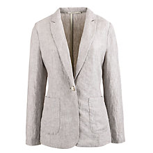 Buy John Lewis Linen Boyfriend Blazer Online at johnlewis.com