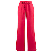 Buy John Lewis Drawstring Linen Trousers Online at johnlewis.com