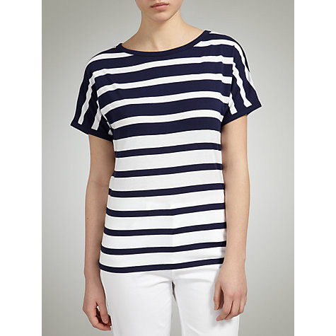 Buy John Lewis Graduated Stripe T-Shirt Online at johnlewis.com