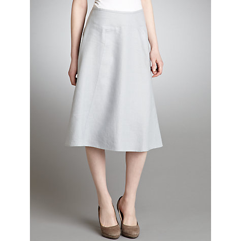 Buy John Lewis Panelled Linen Skirt Online at johnlewis.com