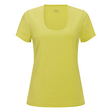 Buy John Lewis Double Layer Scooped Neck Top Online at johnlewis.com