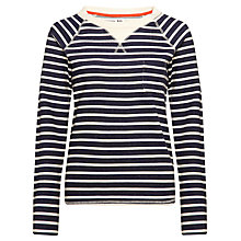 Buy Kin by John Lewis Striped Sweat Top, Navy Stripe Online at johnlewis.com