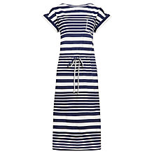 Buy Kin by John Lewis Striped T-Shirt Dress, Navy/Ecru Online at johnlewis.com