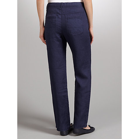 Buy John Lewis 5 Pocket Linen Trousers Online at johnlewis.com