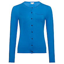 Buy Kin by John Lewis Crew Neck Cardigan, Cobalt Blue Online at johnlewis.com