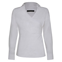 Buy Alexon Wrap Shirt, White Online at johnlewis.com