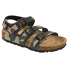 Buy Birkenstock Elice Sandals, Camo Online at johnlewis.com