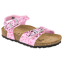 Buy Birkenstock Tuvalu Sandals, Glitter Pink Online at johnlewis.com