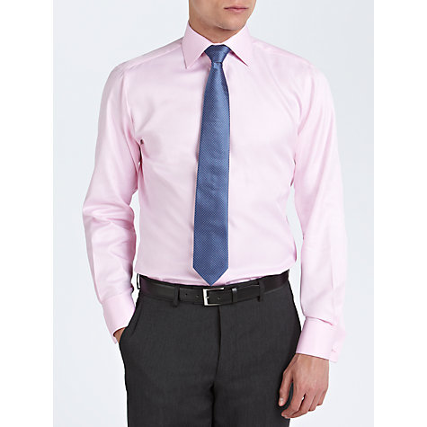 Buy Thomas Pink Slim Fit Twill Prom Shirt Online at johnlewis.com