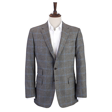Buy Chester Barrie Savile Row Overcheck Jacket Online at johnlewis.com