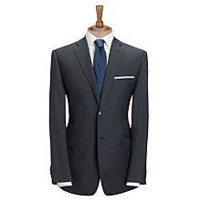 Buy Daniel Hechter Plain Pure Wool Suit Jacket, Navy Online at johnlewis.com