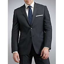 Buy Daniel Hechter Plain Pure Wool Suit, Navy Online at johnlewis.com