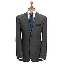 Buy Daniel Hechter Glen Check Travel Suit Jacket, Charcoal Online at johnlewis.com