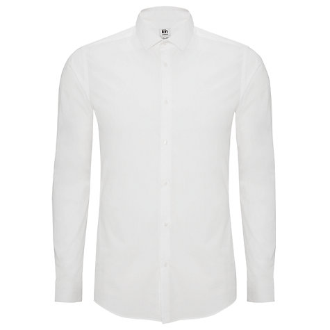 Buy Kin by John Lewis Merrow Poplin Shirt, White Online at johnlewis.com