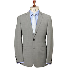 Buy Richard James Mayfair Puppytooth Suit Jacket, Grey Online at johnlewis.com