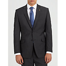 Buy Paul Costelloe Mohair Tonic Suit, Charcoal Online at johnlewis.com