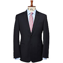 Buy Richard James Mayfair Tonal Check Suit Jacket, Navy Online at johnlewis.com