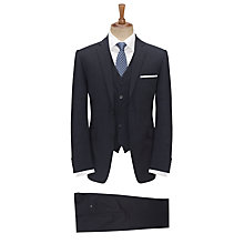 Buy Paul Costelloe Fine Stripe Suit, Navy Online at johnlewis.com