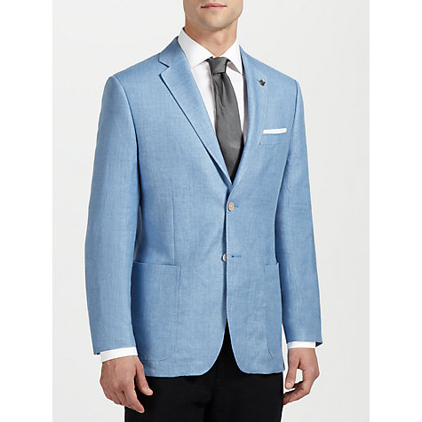 Buy Paul Costelloe Herringbone Linen Jacket Online at johnlewis.com